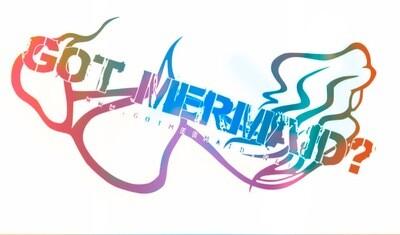 Farewell Mermaid Vinyl Sticker