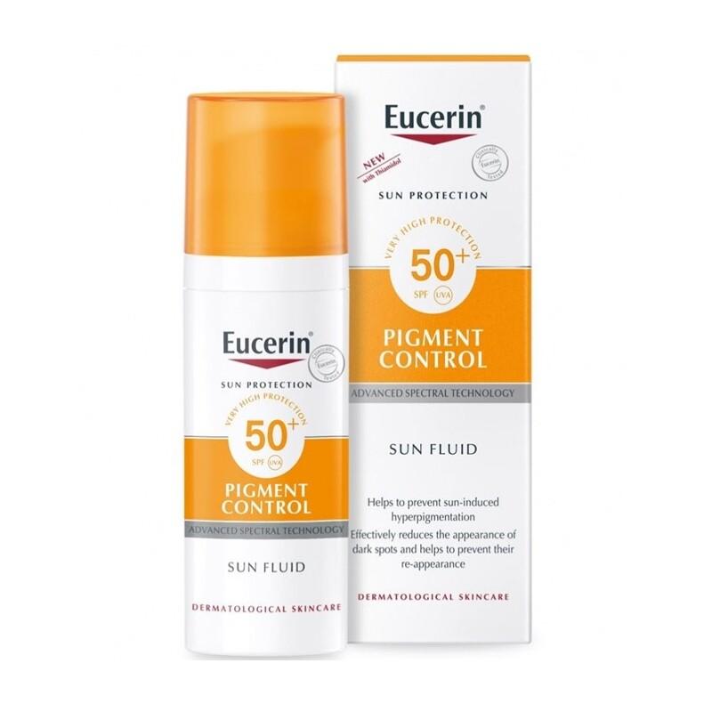 Eucerin Sun Fluid Pigment Control Spf50+ 50 Ml