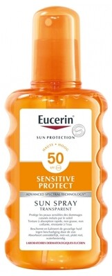 Eucerin Sensitive Protect spray transparente SPF 50+