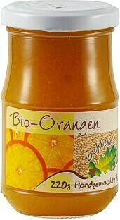 Orangen-Fruchtaufstrich BIO 220g
