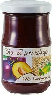Zwetschgen-Fruchtaufstrich BIO 220g