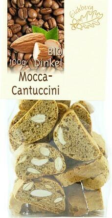Dinkel-Cantuccini Mocca 100g BIO