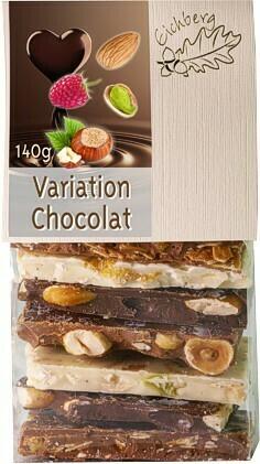 Bruchschokolade Variation Chocolat 140g