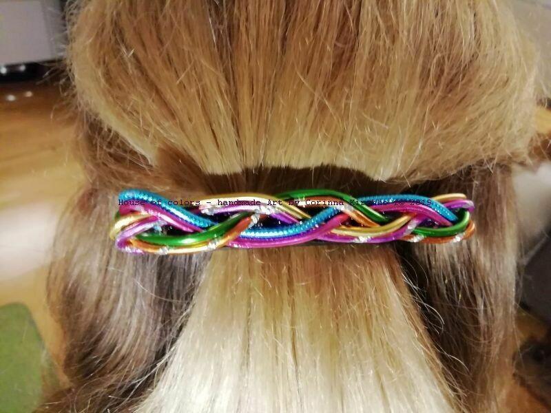 Hairclips multicolor small - Handmade by Corinna Kirchhof