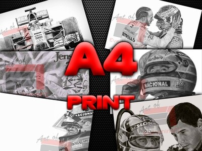 A4 Print - Art of EverythingF1