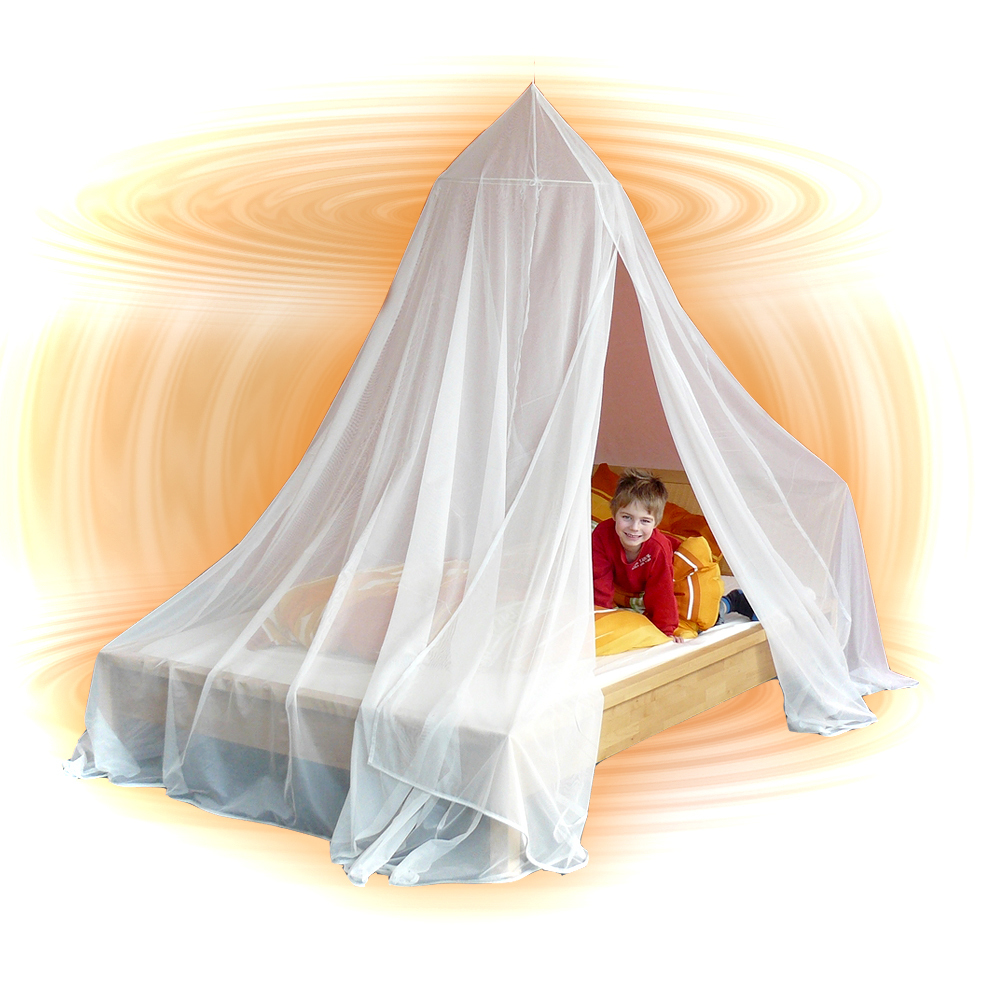 Wave-Guard Passive EMF Faraday Bed Canopy