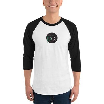 PD Fit 3/4 sleeve raglan shirt