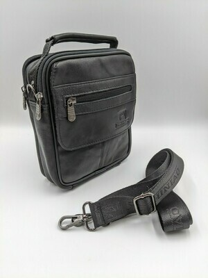 Мужская кожаная сумка zznick 6602s