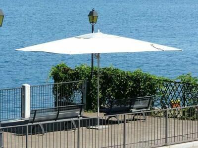 Прямоугольный зонт Fibrasol Silver