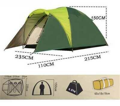 Палатка туристическая трехместная Tasman 3V 5203