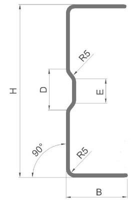 Профиль каркасный лстк