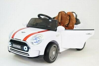 Детский электромобиль купить RiverToys Mini Cooper С111СС
