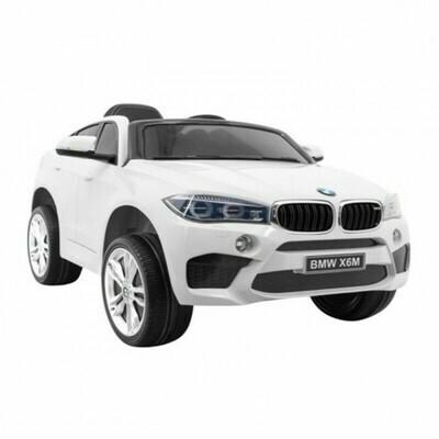 Электромобиль детский BMW X6M одноместный