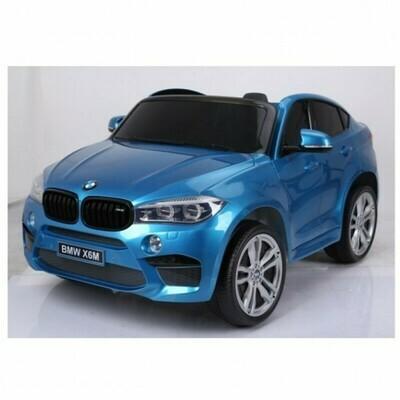 Электромобиль детский BMW X6M двухместный