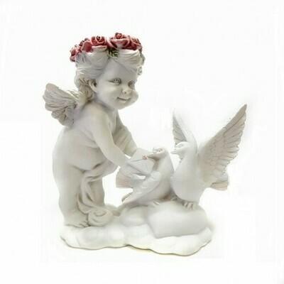Фигурка Ангел с голубями