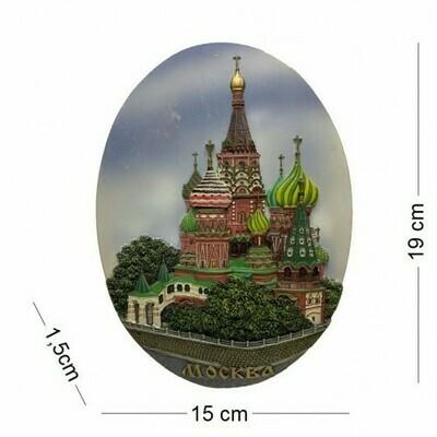 Панно Москва Василия Блаженного