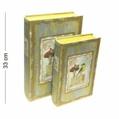 Книга-шкатулка, в наборе 2 штуки