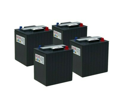 Комплект аккумуляторных батарей 6 В/175 Ач для B 80/100 W Classic