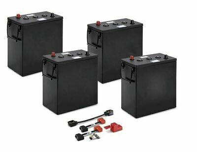 Комплект АКБ + ЗУ US Batteries 253 Ач / 24 В (кислота)