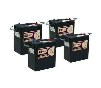 Комплект аккумуляторных батарей 6 В/265 Ач для B 80/100 W Classic
