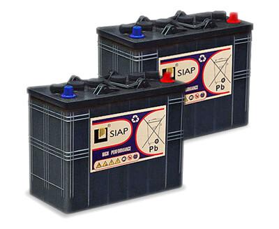 Комплект аккумуляторных батарей 12 В/105 Ач