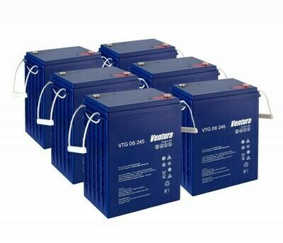 Комплект аккумуляторных батарей VTG 06 245 для B 150