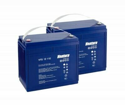 Комплект аккумуляторных батарей VTG 12 110 для BD 50/50