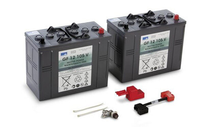 Комплект аккумуляторных батарей для B 40