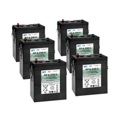 Комплект аккумуляторных батарей для B 150 R, B 200 R