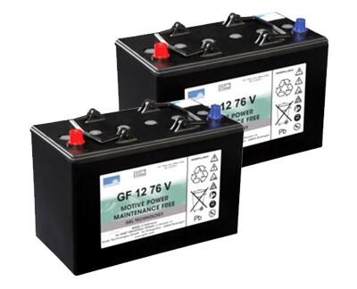 Комплект аккумуляторных батарей для BR/BD 530, B 40, BD 43/25