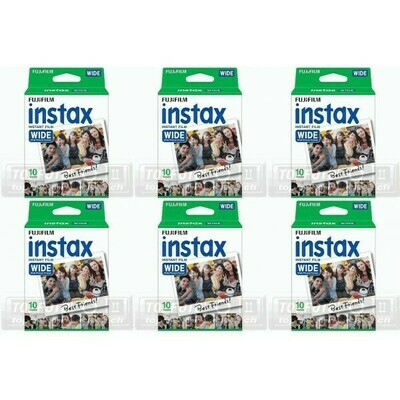 FUJI Instax Color Film Tripplelpack - 6 films for 600 shots for Instax 300, 210, 200 and 100 camera