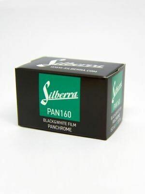 Silberra PAN 160 135-36 panchromatischer Schwarzweiss-Negativfilm MHD 12/2021