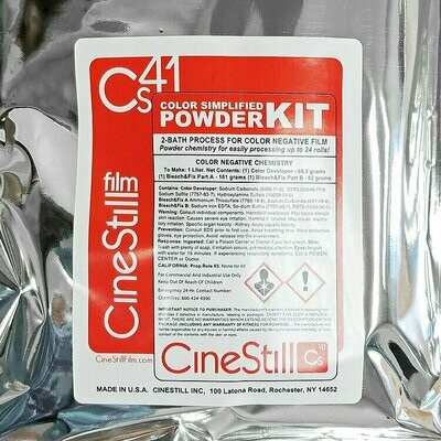 CINESTILL CS41 Color Simplified Quart Kit Powder available from approx. 17.06.2020