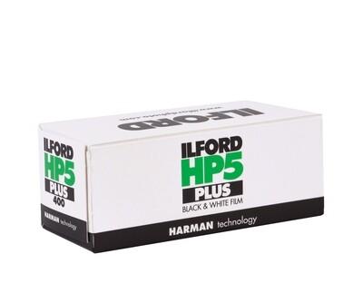 Ilford HP5 Plus 120 Black & White Negative (Print) Film (ISO-400) expired 02/2023