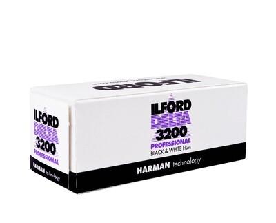 ILFORD Delta 3200, Format 120 Rollfilm MHD 03/2021