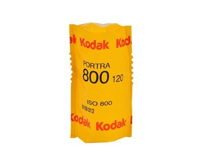 KODAK Portra 800, 120 Rollfilm expired 01/2022