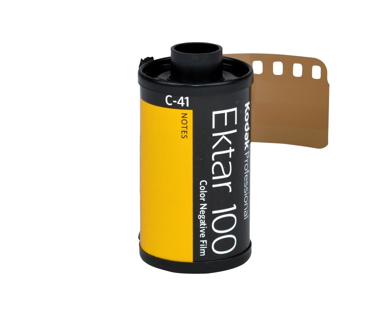 Kodak EKTAR 100 Professional 135-36 Rollfilm MHD 10/2021