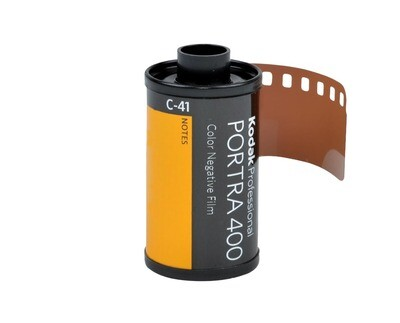 Kodak 35mm Professional Portra 400 Color Negative Film date 09/2021
