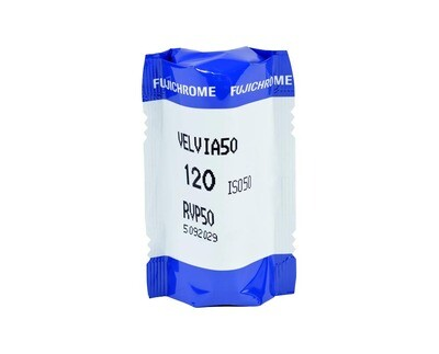 FUJIFILM Velvia 50 RVP, Format 120 Rollfilm NEU MHD 11/2018
