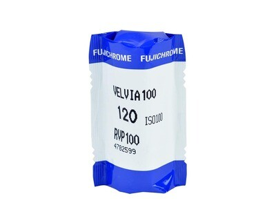 FUJIFILM VELVIA 100F Format 120 1-Pack (16326107) MHD 08/2019