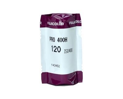 FUJIFILM Fujicolor PRO 400H Professional Color Negative Film(120 Roll Film, expired 07/2021
