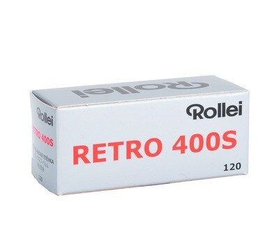 Rollei Retro 400S Format 120 MHD 01/2021