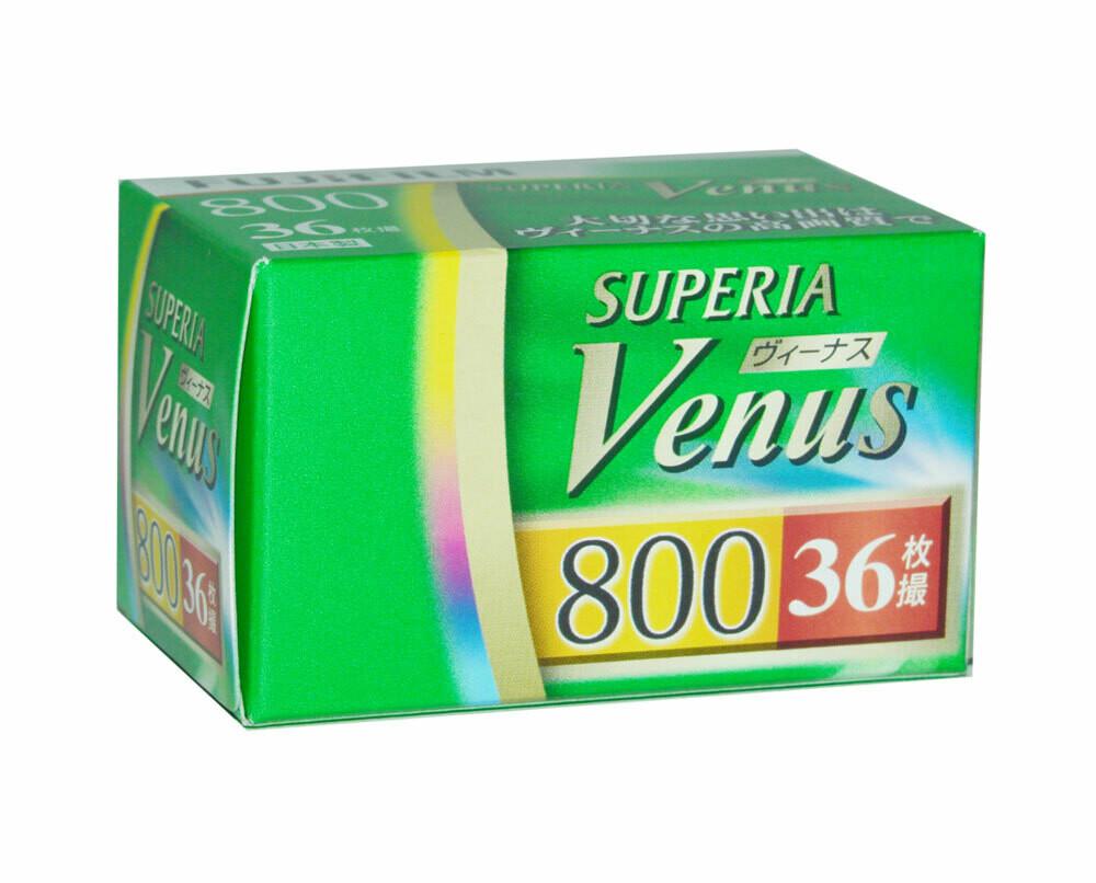 Fujifilm Superia Venus 800 135/36 expired 08/2021