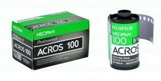 Fujifilm Neopan 100 Acros Black and White Negative Film (35mm Roll Film, 36 Exposures) date 11/2019