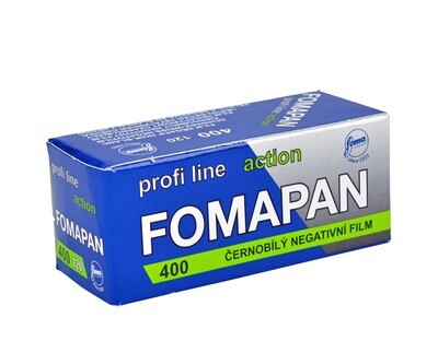 Fomapan 400 Action Black and White Negative Film (120 Roll Film)