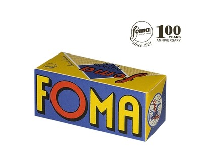 Fomapan 400 Action Black and White Negative Film (120 Roll Film) Retro expired 09/2022
