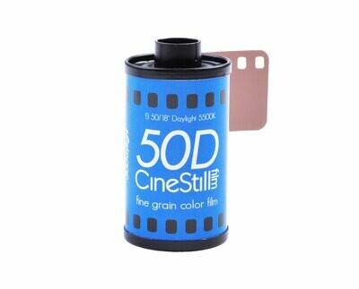 CineStill 50 Daylight Xpro C-41 Format 135-360 date 11/2021