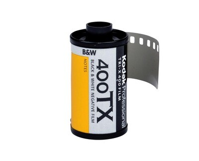 Kodak Tri-X Pan 400, TX-Pan Black & White Negative Film ISO 400, 35mm Size, 36 Exposure expired 06/2022