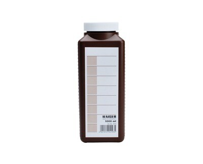 Kaiser chemical storage bottle brown 1,000ml
