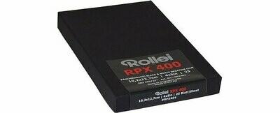ROLLEI RPX 400 Planfilm 10,2x12,7cm (4x5